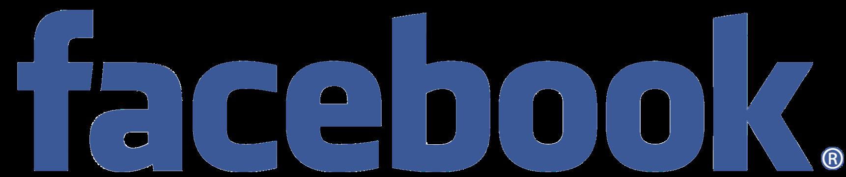logo facebook texto